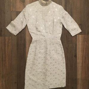 Vintage White Holiday Dress